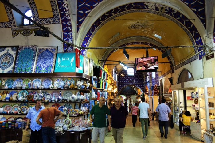 The mother and the father of all shopping malls - Grand Bazaar