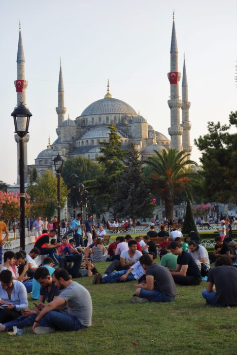 The Blue Mosque - the most photogenic building in Turkey