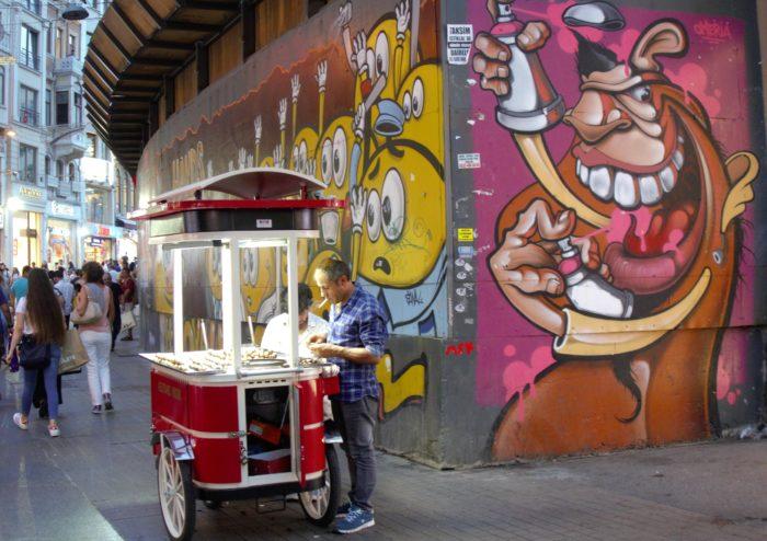 Street art & street food