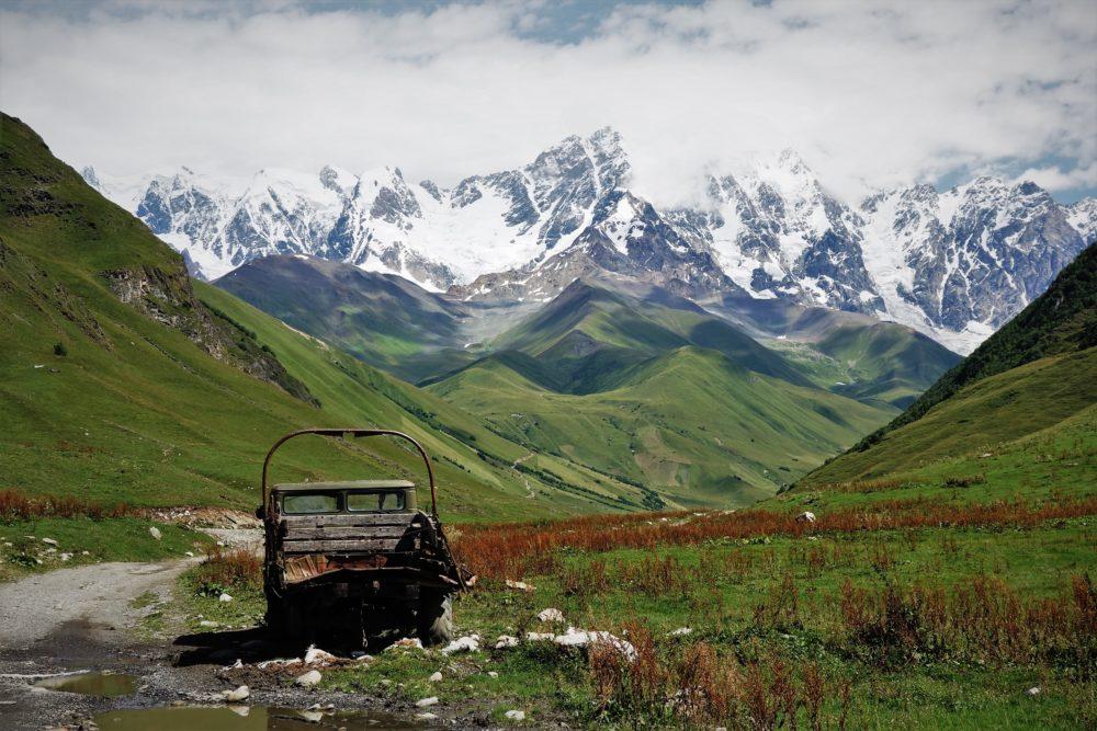 Jazda samochodem w Gruzji