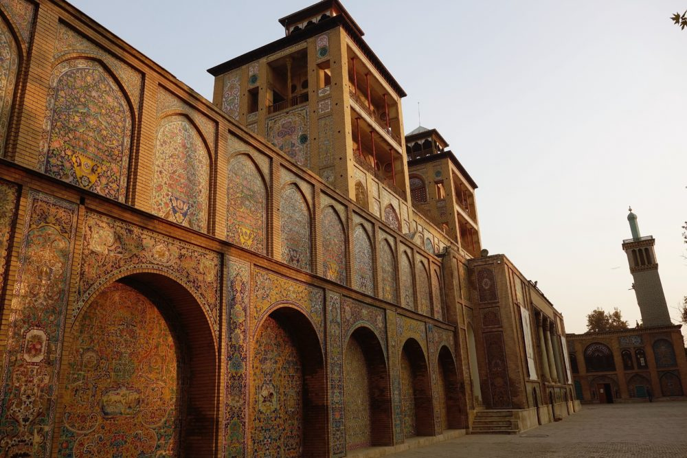 All of the former Shah's palaces currently serve as museums