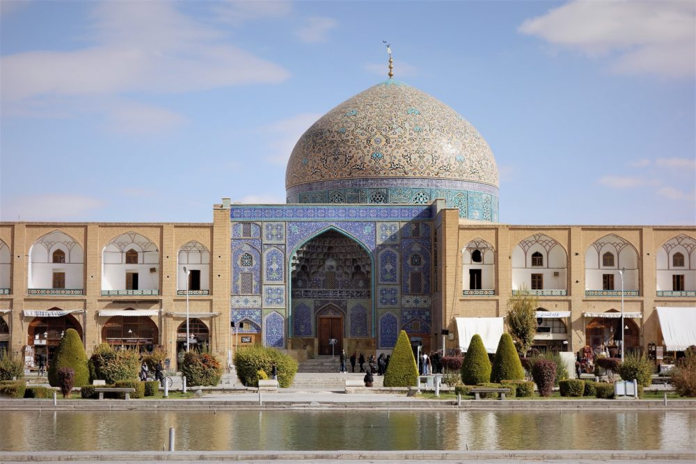 """:et's first take a look at the amazing sights of Esfahan - a city called """"Half of the World"""""""