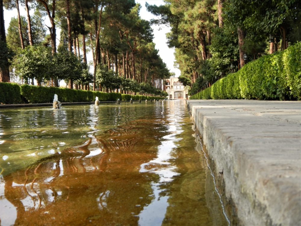 Persian gardens - what a lovely place for a walk