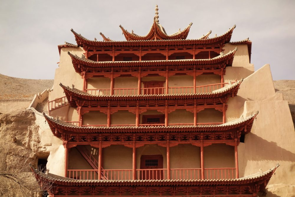 Mogao caves - an impressive complex of Buddhist temples