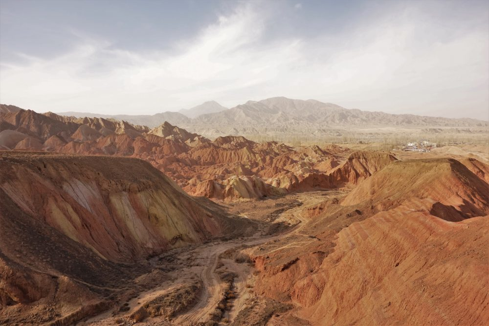 Who wants to visit Zhangye with me? There's a geopark there and in it - colourful mountains!