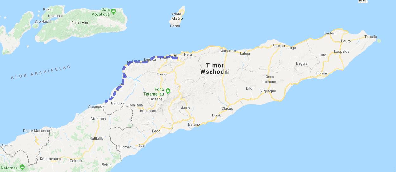 house-sitting w Timorze Wschodnim