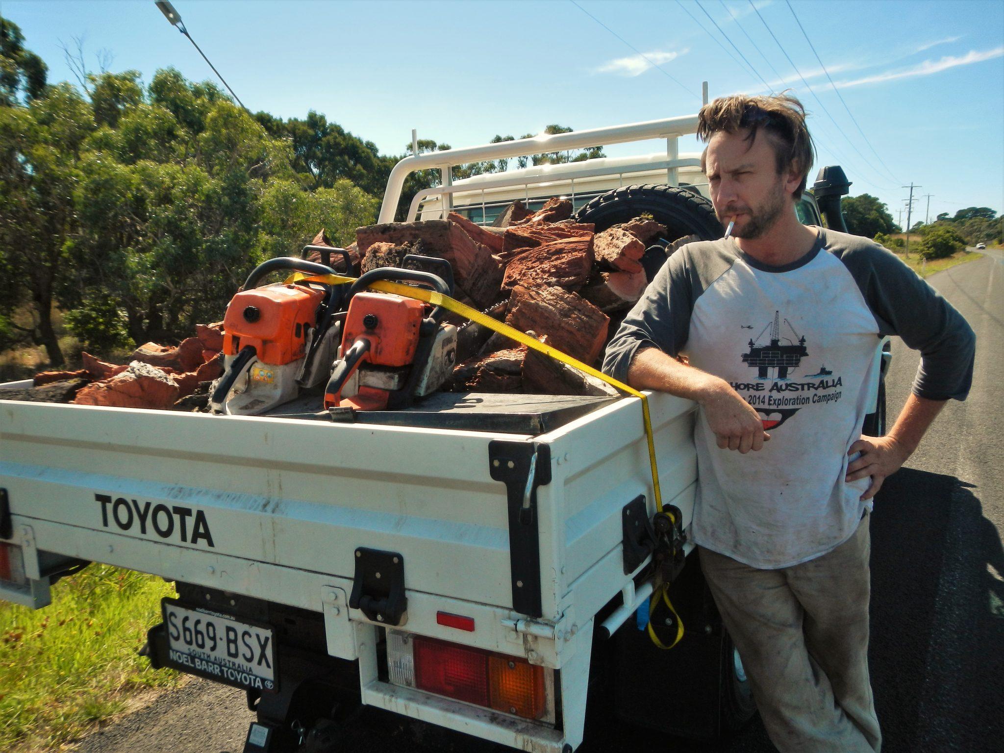 autostop w australii